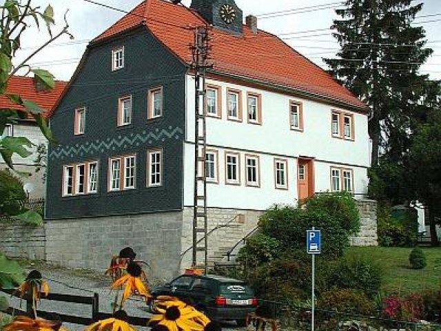 Gemeindebüro Unterpörlitz, Foto: Horst Bradsch