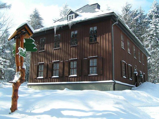 Winter am Jagdhaus Gabelbach