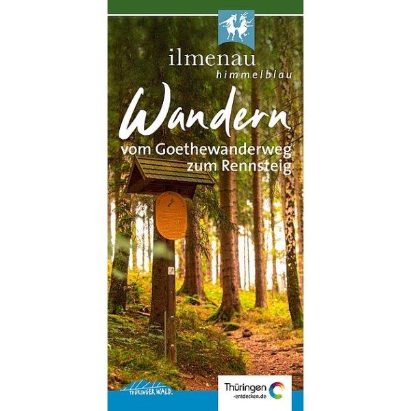 Flyer Wandern - vom Goethewanderweg zum Rennsteig