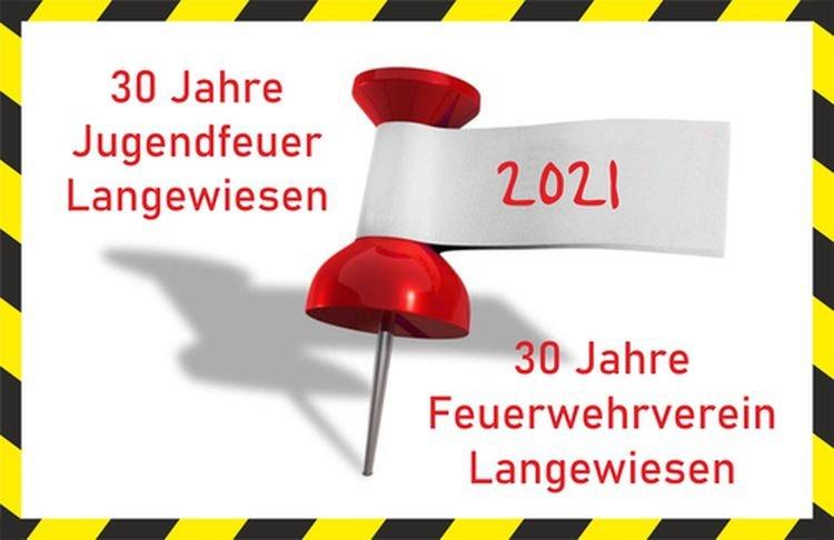 30 Jahre Feuerwehrverein Langewiesen