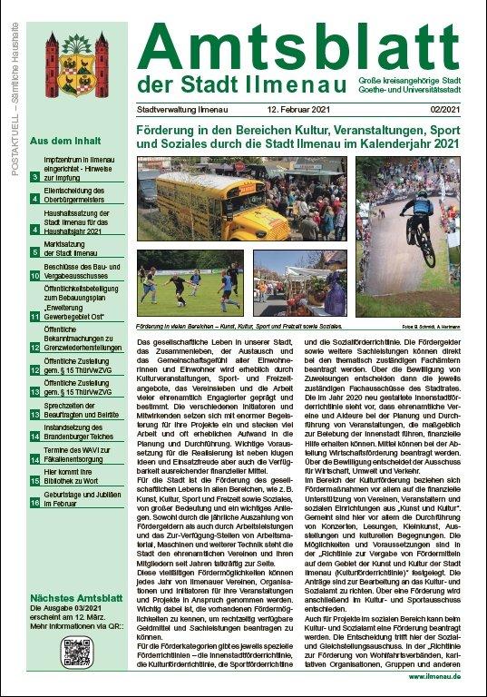 Amtsblatt 02/2021 (Titel)