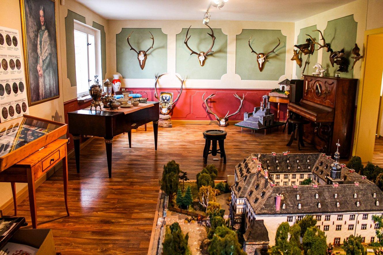 Stadt- und Schlossmuseum Gehren Jagdzimmer