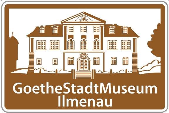Infotafel GoetheStadt Museum Ilmenau an BAB 71