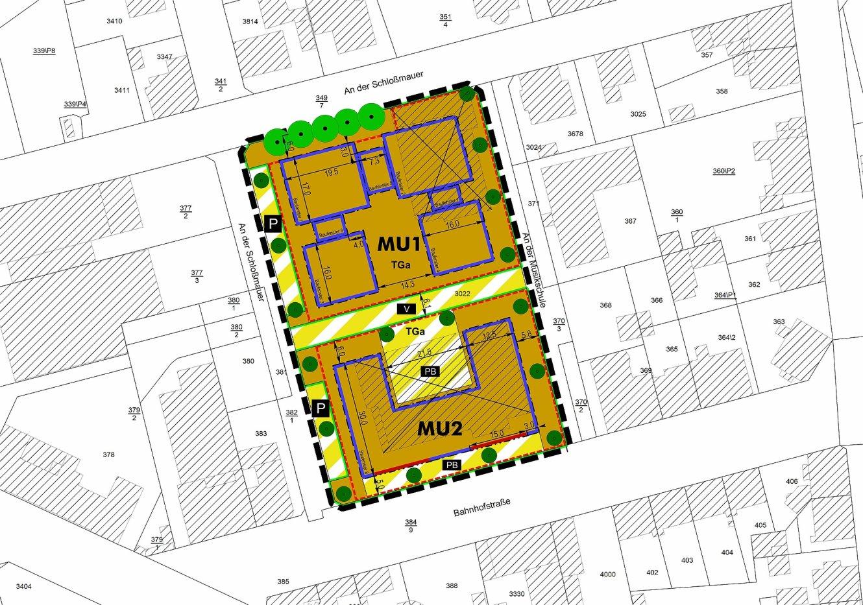 Amtliche Bekanntmachung über die frühzeitige Öffentlichkeitsbeteiligung zum B-Plan Nr. 57 der Stadt Ilmenau