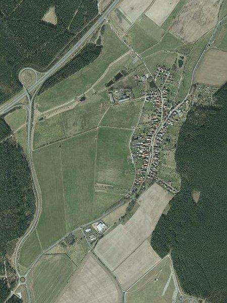 Luftbildausschnitt Bücheloh