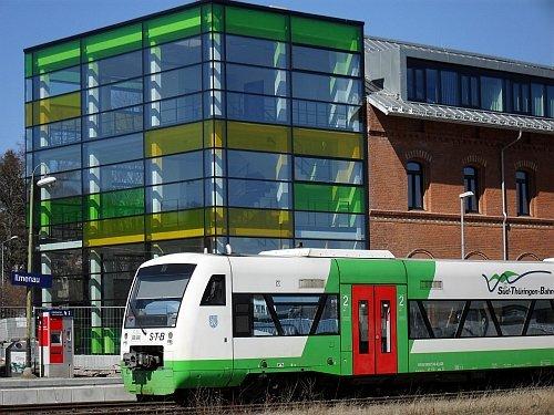 Bahnhof in Ilmenau