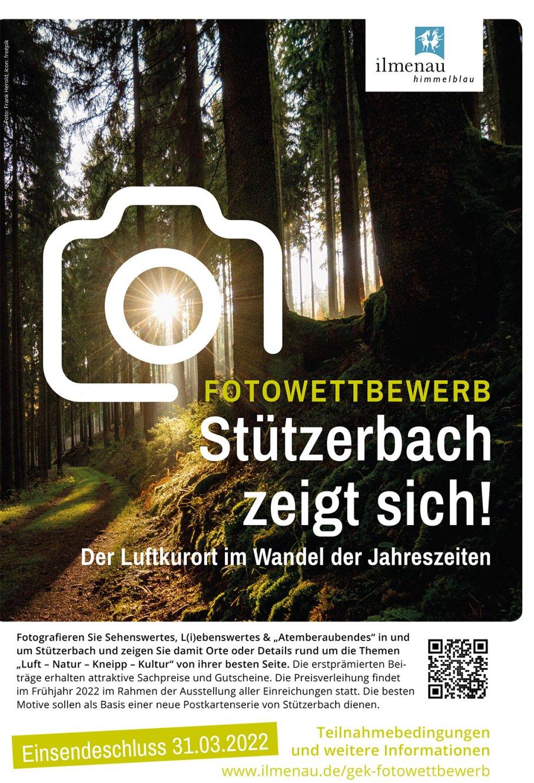 Plakat Fotowettbewerb Stützerbach