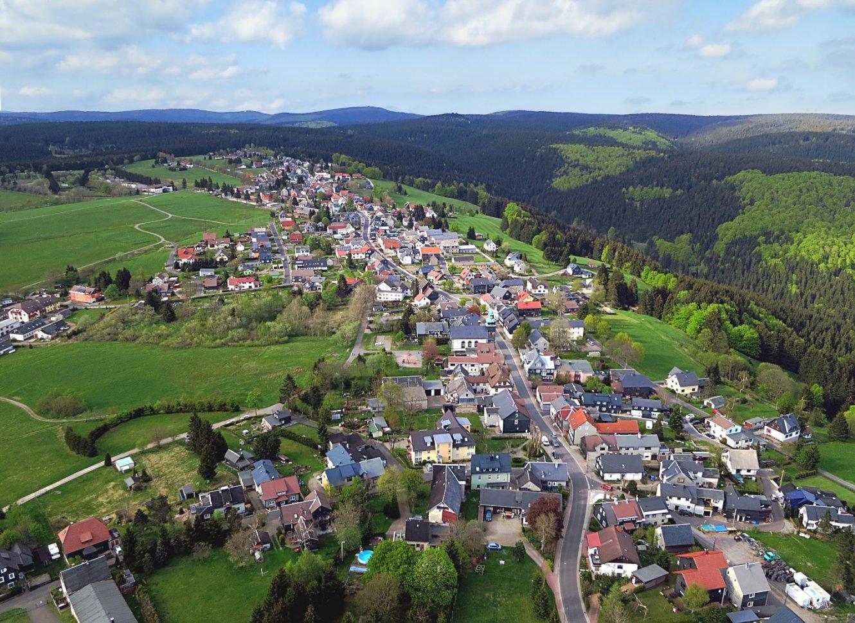 Frauenwald von oben