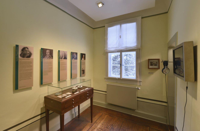 Museum Jagdhaus Gabelbach - Ausstellung im Obergeschoss