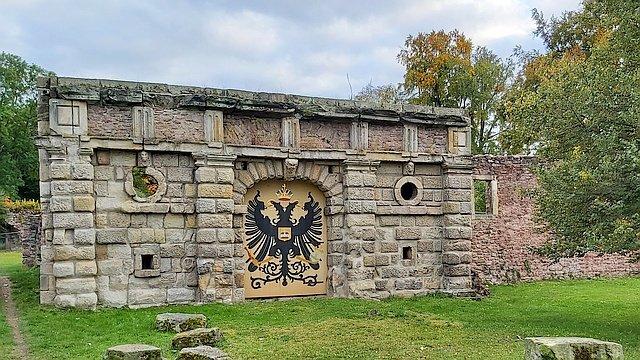 Schlossruine in Gehren