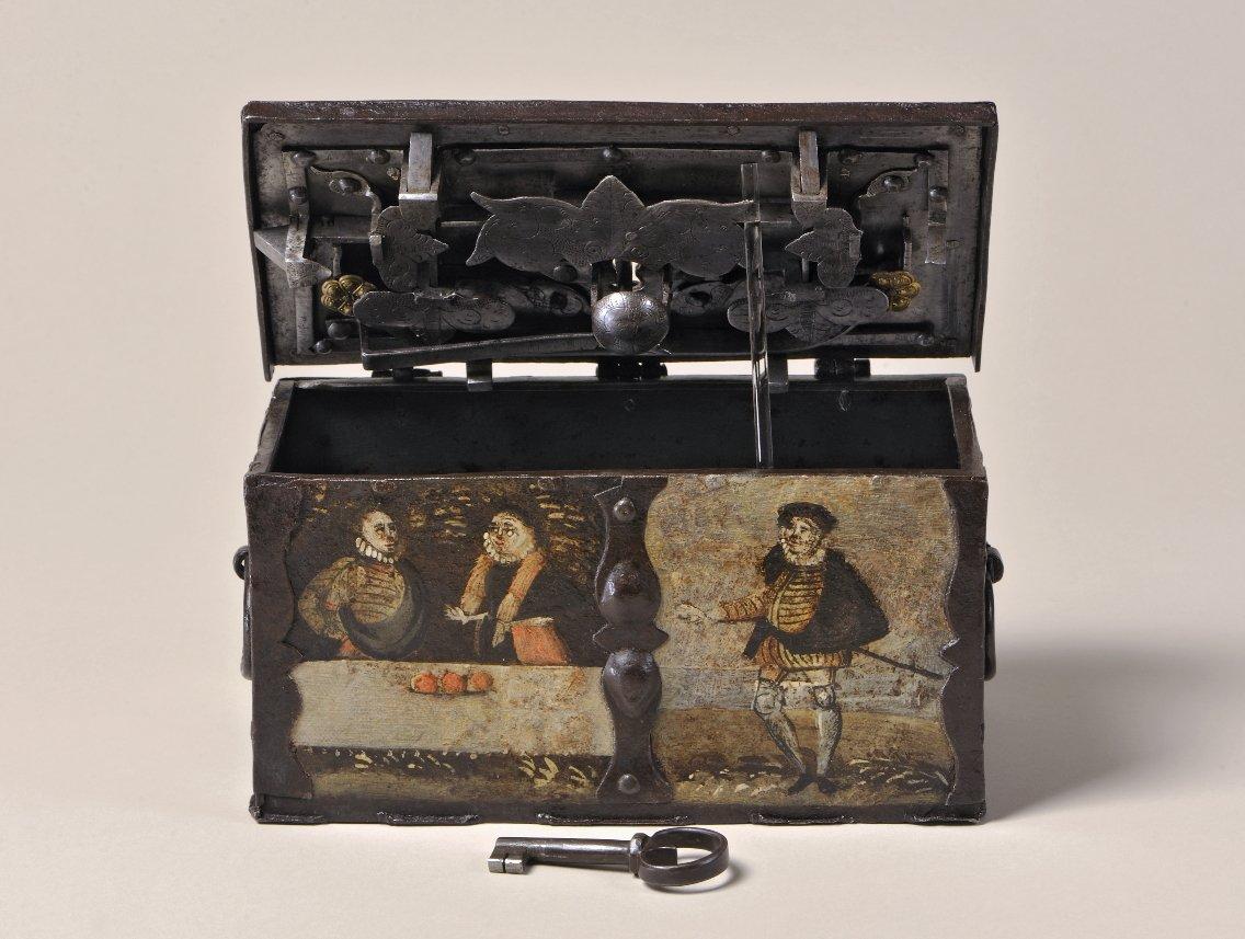 Geldkassette, um 1600