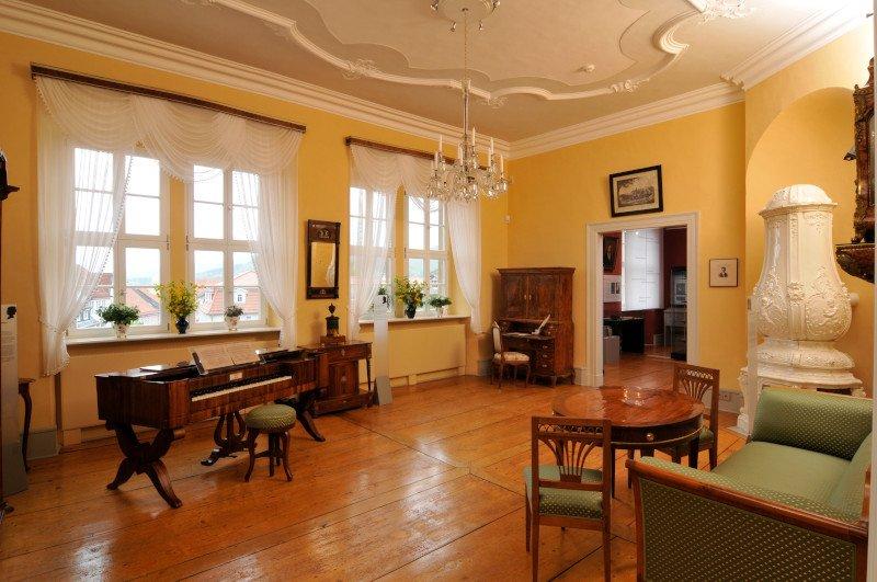 Goethesalon im GoetheStadtMuseum