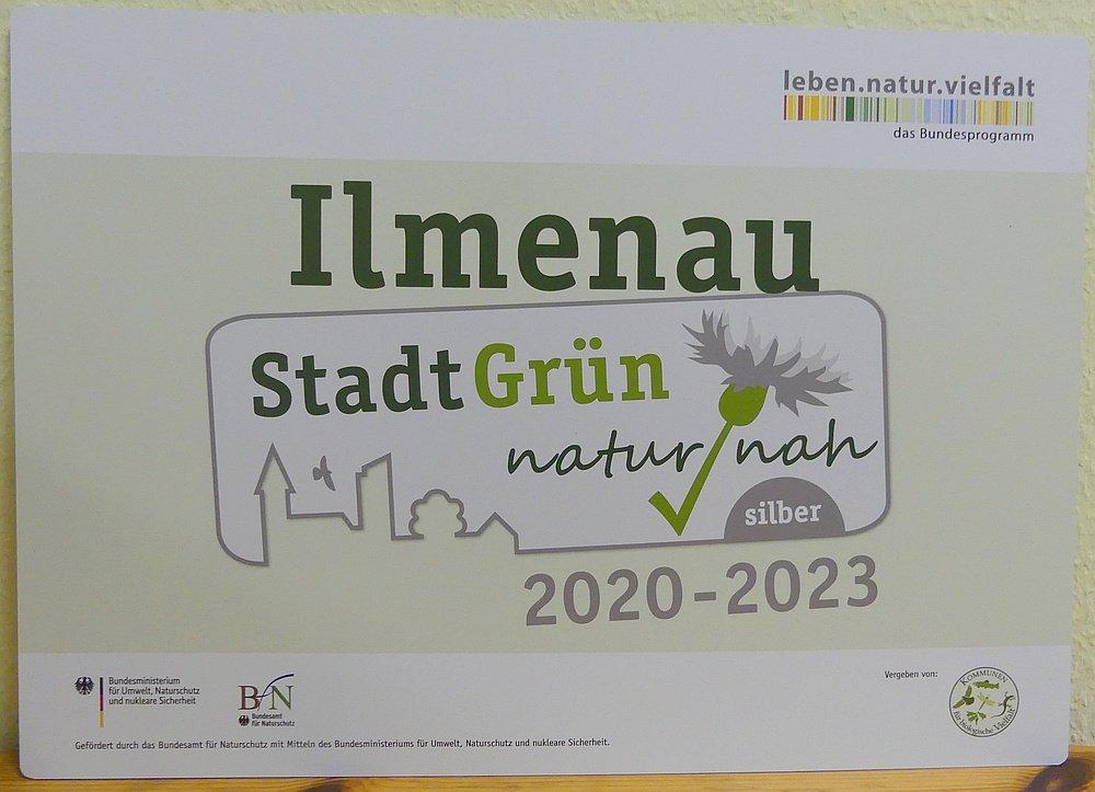 "Label ""StadtGrün naturnah"""