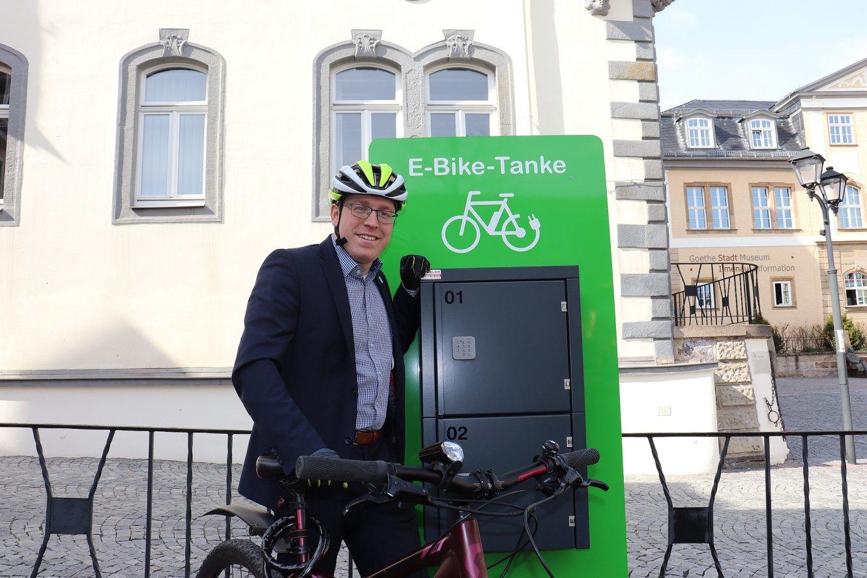 Fahrradbeauftragter Sebastian Poppner