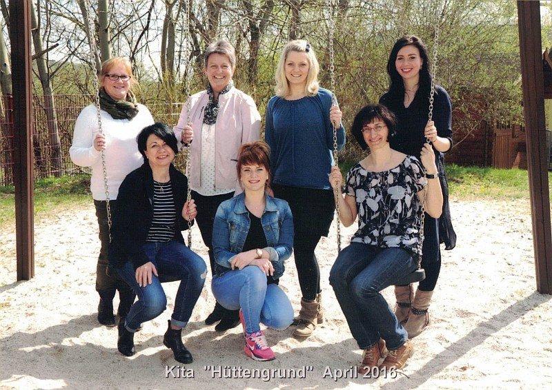Kindergarten Hüttengrund - Unser Team