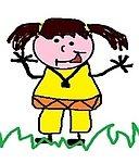 Gelbes Kind