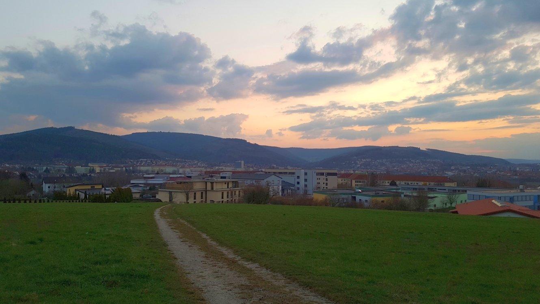 Aussicht über Ilmenau vom Knebelblick