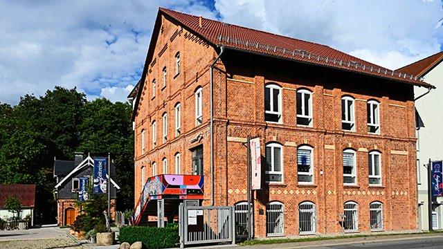 Kulturfabrik Langewiesen Außenansicht