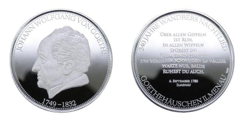 Medaille- Goethe