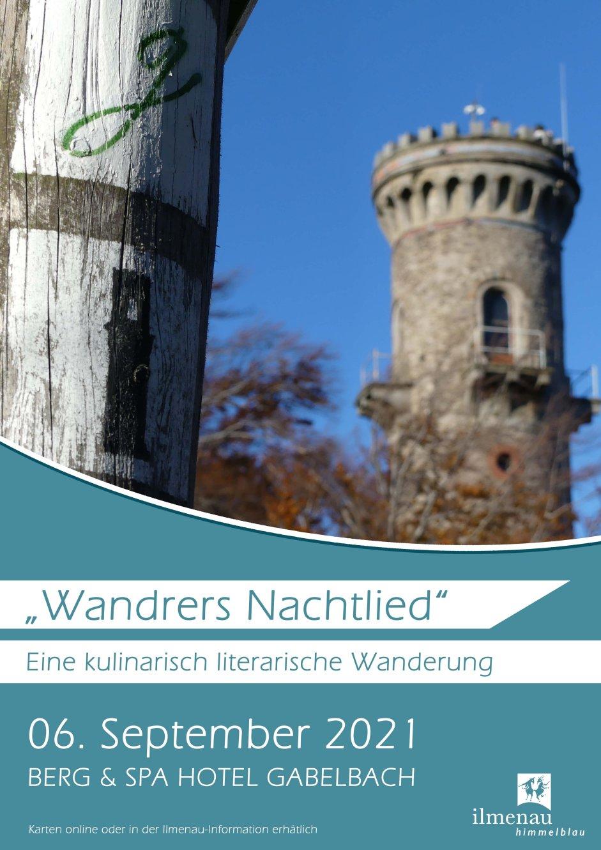 Plakat Wandrers Nachtlied 2021