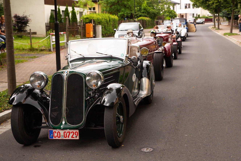 Gabelbachbergrennen Autokolonne