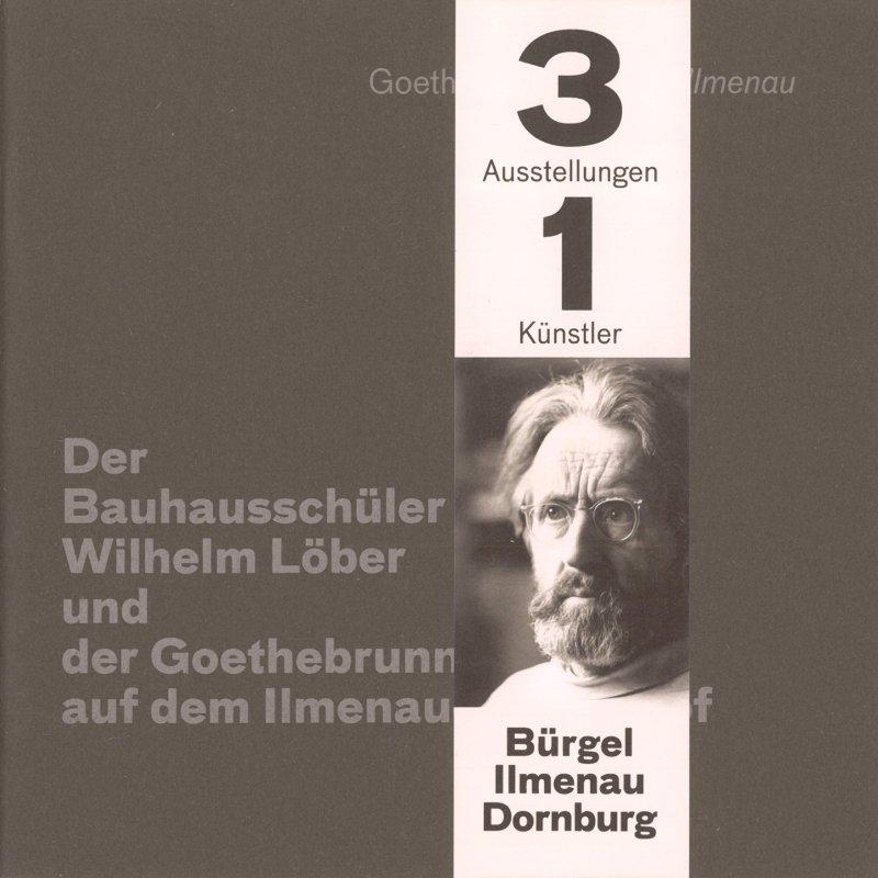 Ausstellungskataloge Wilhelm Löber mit Banderole