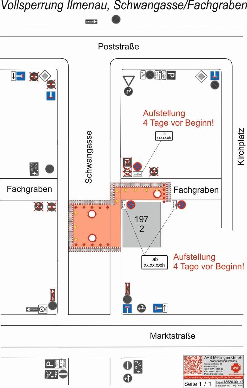 Sperrung Schwangasse 2020/2021