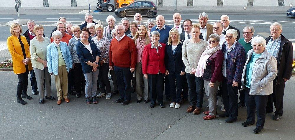 Besuch des Seniorenbeirates Ilmenau in der Partnerstadt Wetzlar im April 2019
