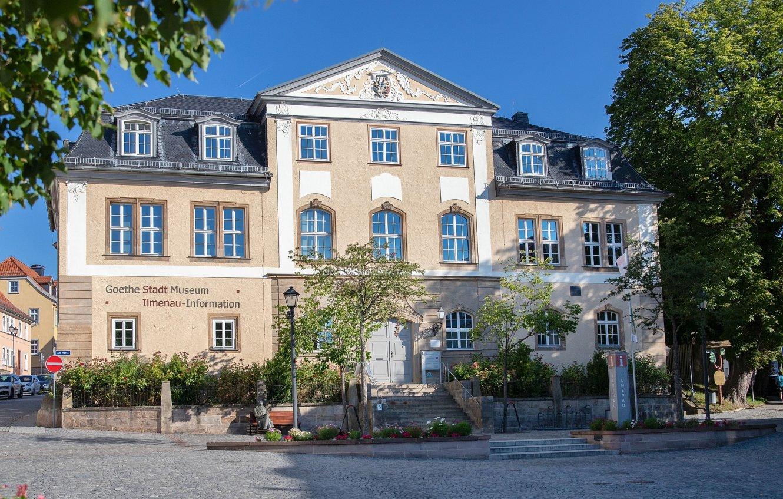 Ilmenau-Information im Amtshaus