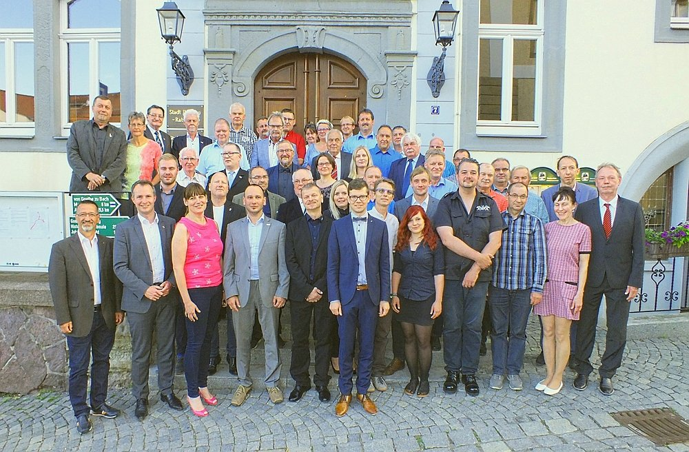 Stadtrat nach der 1. Sitzung am 13.06.2019